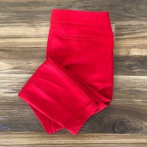 Red LOFT Pants Size 10P